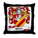Goetz Family Crest Throw Pillow