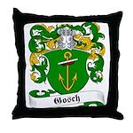 Gosch Family Crest Throw Pillow
