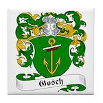 Gosch Family Crest Tile Coaster