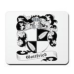 Gottfried Family Crest Mousepad