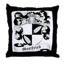 Gottfried Family Crest Throw Pillow
