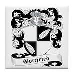 Gottfried Family Crest Tile Coaster