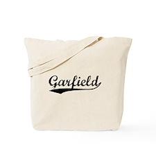 Vintage Garfield (Black) Tote Bag