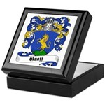 Graff Family Crest Keepsake Box