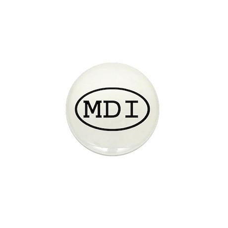 MDI Oval Mini Button (10 pack)