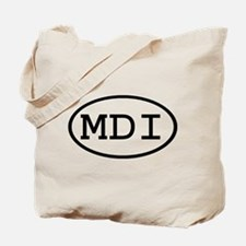 MDI Oval Tote Bag