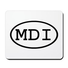 MDI Oval Mousepad