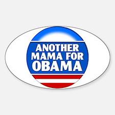 Obama Mama 1 Oval Decal