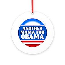 Obama Mama 1 Ornament (Round)