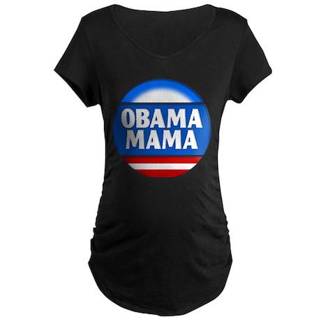 Obama Mama 2 Maternity Dark T-Shirt