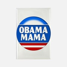 Obama Mama 2 Rectangle Magnet