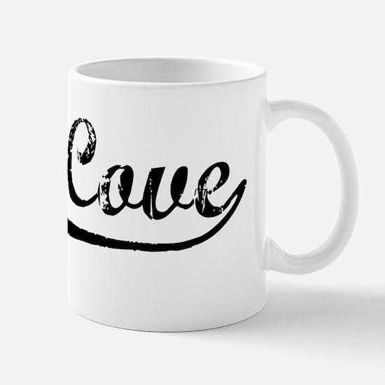 Vintage Glen Cove (Black) Mug