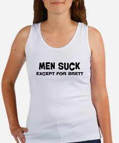 Except for Brett Women's Tank Top