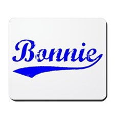 Vintage Bonnie (Blue) Mousepad
