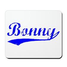 Vintage Bonny (Blue) Mousepad