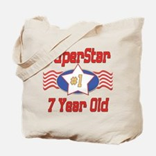 Superstar at 7 Tote Bag