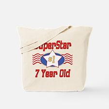 Superstar at 7 Tote Bag