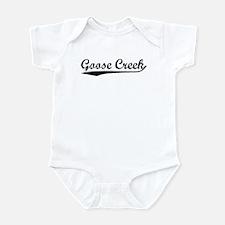 Vintage Goose Creek (Black) Infant Bodysuit