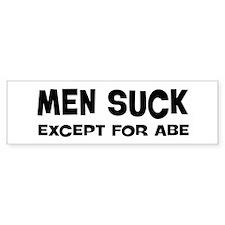 Except for Abe Bumper Bumper Sticker