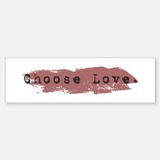 Candaa Circle of Love Bumper Bumper Bumper Sticker