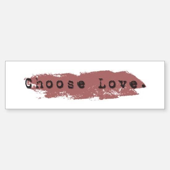 Candaa Circle of Love Bumper Bumper Bumper Sticker