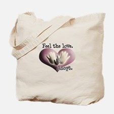 Feel the Love Circle of Love Tote Bag