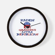 Kaden - Grandpa's Little Repu Wall Clock