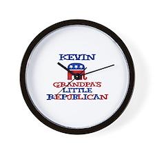 Kevin - Grandpa's Little Repu Wall Clock