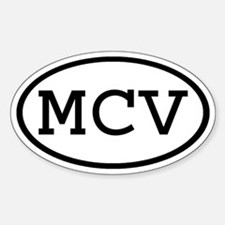 MCV Oval Oval Decal