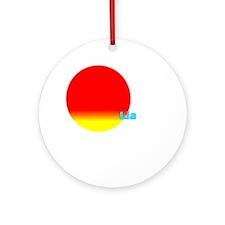 Lia Ornament (Round)