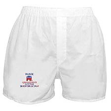 Max - Grandpa's Little Republ Boxer Shorts