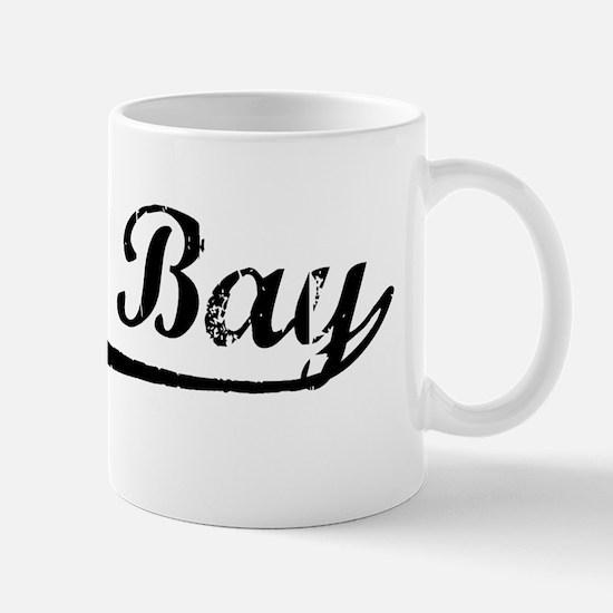 Vintage Green Bay (Black) Mug