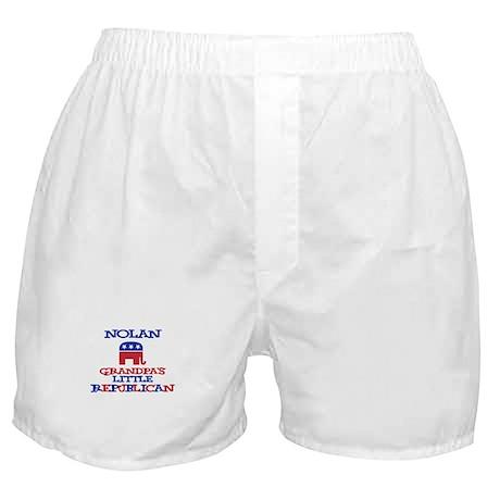 Nolan - Grandpa's Little Repu Boxer Shorts