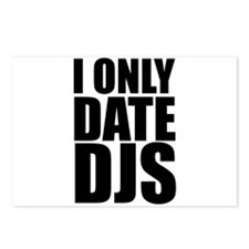 I Only Date DJs 3 Postcards (Package of 8)