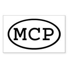 MCP Oval Rectangle Decal
