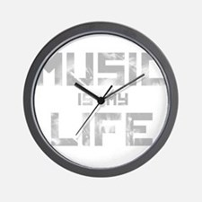 Music Is My Life Wall Clock