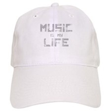 Music Is My Life Baseball Baseball Cap