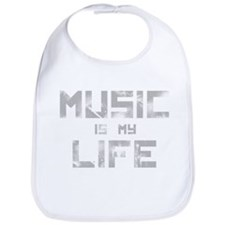 Music Is My Life Bib