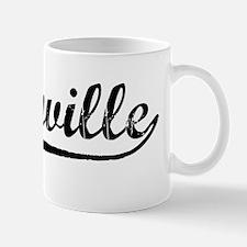Vintage Greenville (Black) Mug