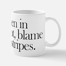 Coffee Mug. Blame the stripes.