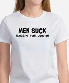 Except for Justin Women's T-Shirt
