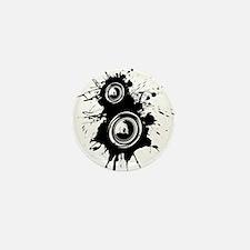 Speaker Splatter Mini Button