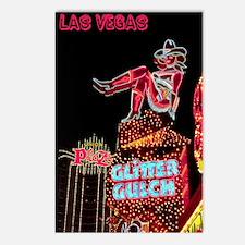 Las Vegas Nightlife Postcards (Package of 8)
