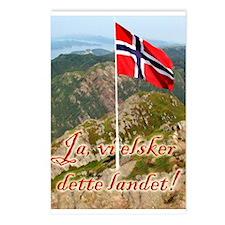 Ja, vi elsker ... Postcards (Package of 8)