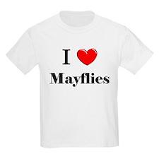 I Love Mayflies T-Shirt