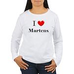 I Love Martens Women's Long Sleeve T-Shirt