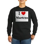 I Love Martens Long Sleeve Dark T-Shirt