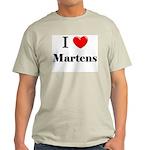 I Love Martens Light T-Shirt