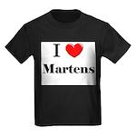 I Love Martens Kids Dark T-Shirt