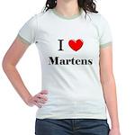 I Love Martens Jr. Ringer T-Shirt